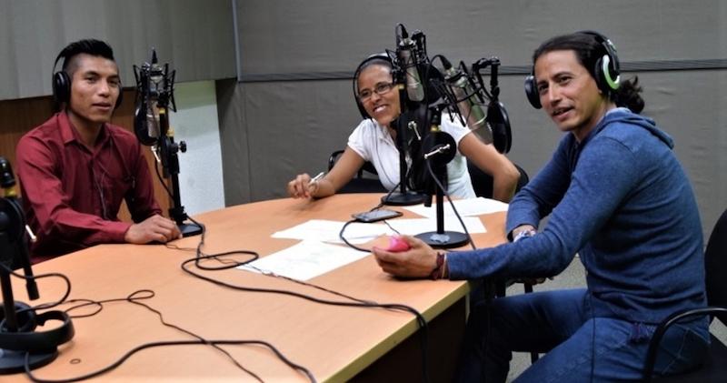 RADIO MEXIQUENSE Y UIEM DAN VOZ A PUEBLOS INDÍGENAS