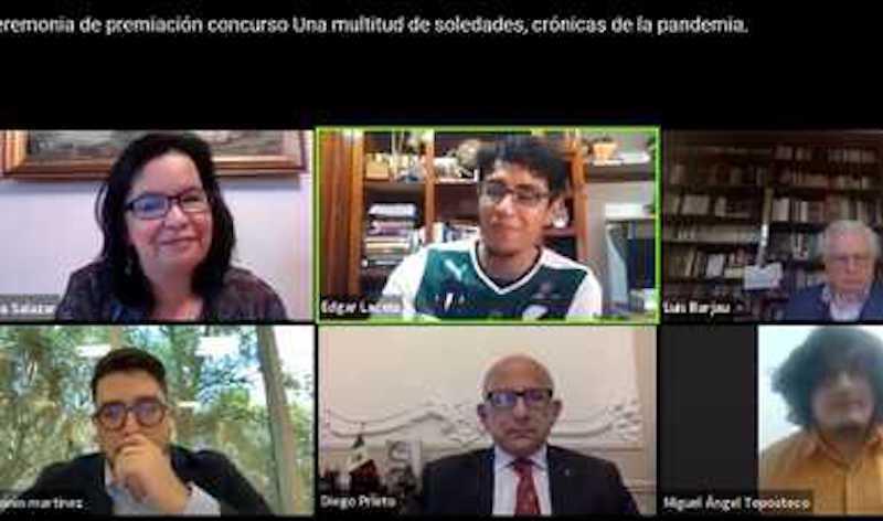 PREMIAN GANADORES DE CONCURSO DE CRÓNICA