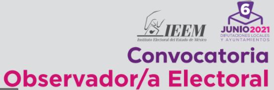 IEEM CONVOCA A PARTICIPAR COMO OBSERVADORES ELECTORALES