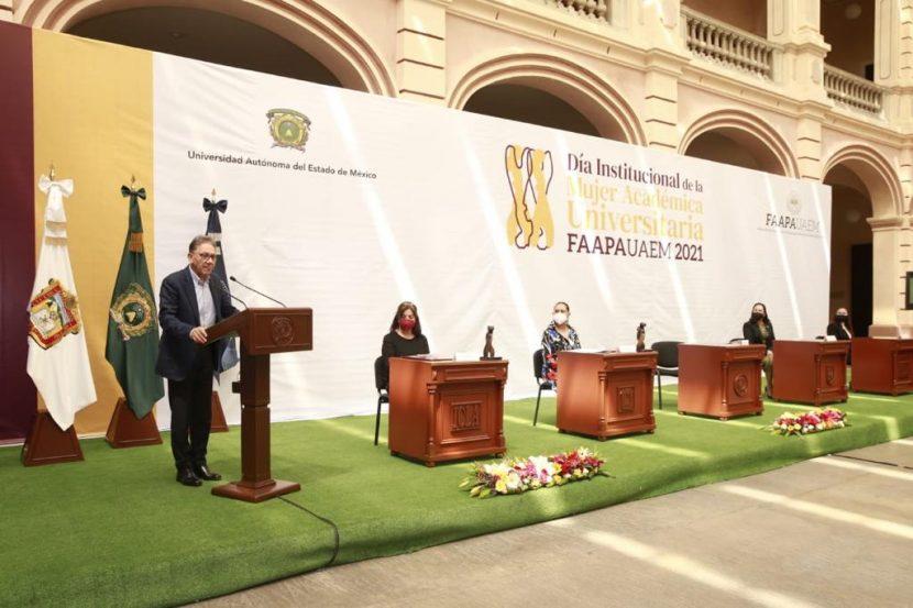 CONSOLIDA UAEM CAUSA FEMINISTA: ALFREDO BARRERA