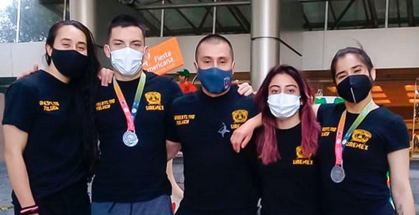 DEPORTISTAS DE LA UAEM A LA SELECCIÓN NACIONAL DE LUCHA
