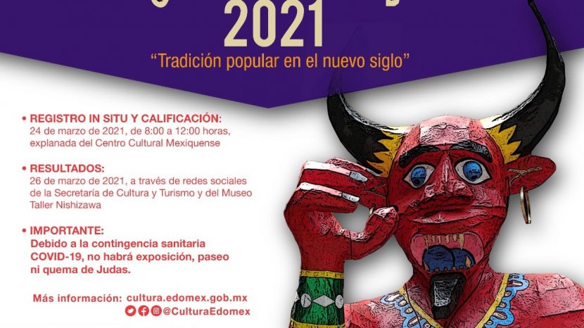 ABRE CULTURA Y TURISMO CONVOCATORIA JUDAS 2021