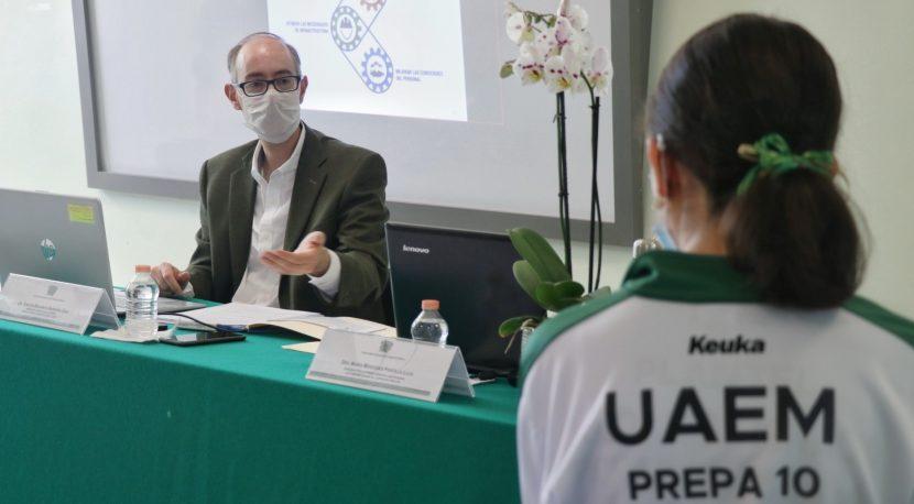 DESARROLLO INTEGRAL CON SALUD EMOCIONAL: EDUARDO BARRERA