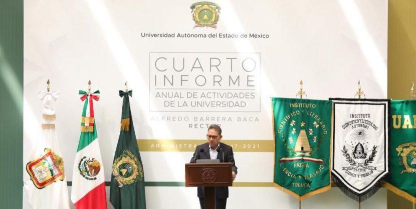 CORRECTO EJERCICIO DE RECURSOS, PRIORIDAD DE UAEM: ALFREDO BARRERA