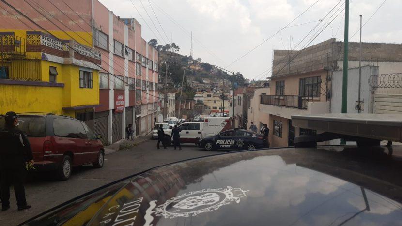 HALLAN A HOMBRE MUERTO EN CENTRO DE TOLUCA