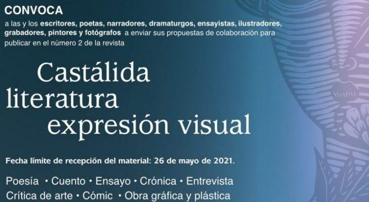 CONVOCAN A COLABORAR EN «CASTÁLIDA LITERATURA EXPRESIÓN VISUAL»