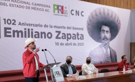 CNC Y PRI SE PRONUNCIAN POR UN CONGRESO QUE DEFIENDA AL SECTOR CAMPESINO