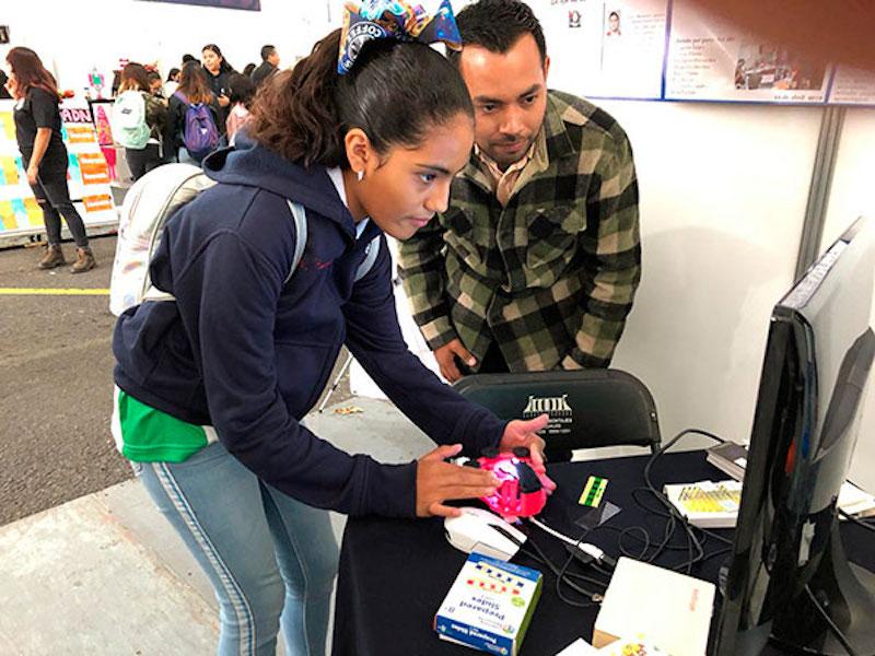 UNAM USA TECNOLOGÍA 3D PARA MOTIVAR GUSTO POR LA CIENCIA