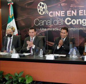 CANAL DE CONGRESO TRANSMITIRÁ CINE CON CONTENIDO SOCIAL