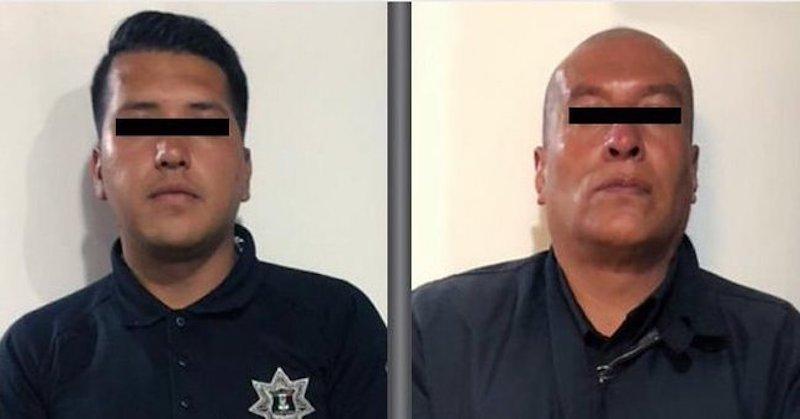 DETIENEN A DOS POLICÍAS POR EXTORSIÓN EN NAUCALPAN
