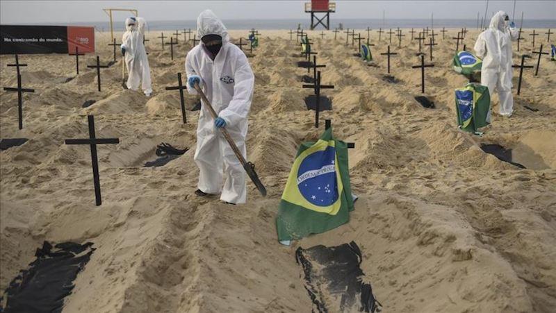 SITUACIÓN DE LA PANDEMIA; BRASIL CON 4,249 MUERTES EN UN DÍA