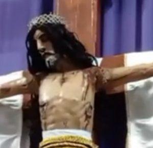 VIDEO VIRAL DE CRISTO QUE SE MUEVE TIENE UNA EXPLICACIÓN