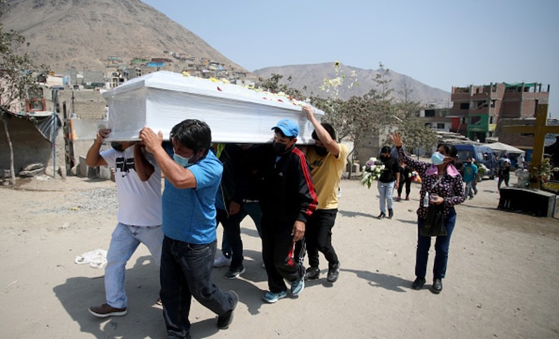 EL MUNDO SUPERA LOS 3 MILLONES DE MUERTES POR COVID-19