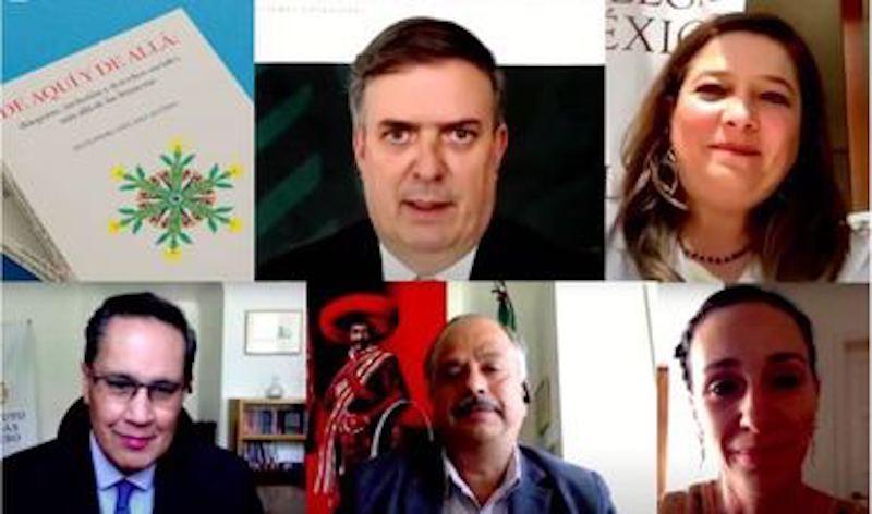 CANCILLER DE MÉXICO PARTICIPA EN LA PRESENTACIÓN DE LIBRO