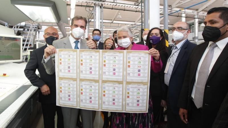 BOLETAS ELECTORALES TIENEN CANDADOS INFALSIFICABLES: INE