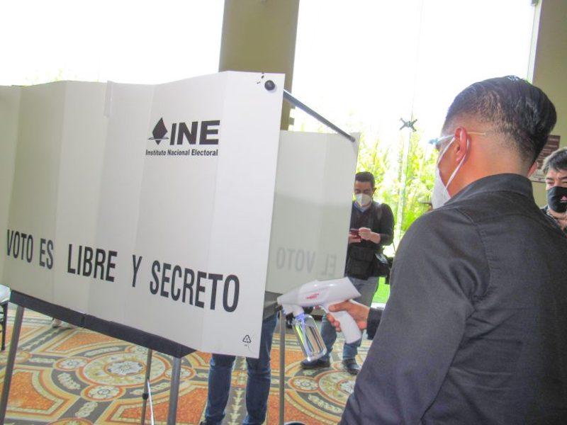INE HIDALGO LLEVA A CABO SIMULACRO DE VOTACIÓN