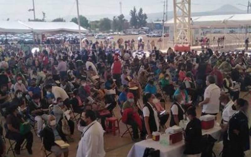 INICIA SEGUNDA DOSIS A MAYORES DE 60 AÑOS DE CHIMALHUACÁN