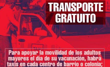 OFRECE SAN MATEO ATENCO TRANSPORTE GRATUITO A ADULTOS MAYORES