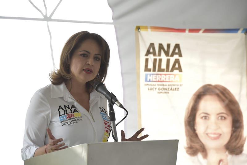 PRESENTA ANA LILIA HERRERA AGENDA LEGISLATIVA DE LA GENTE