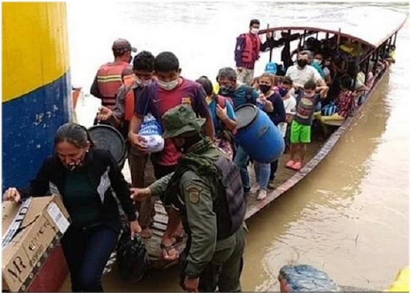 CRISIS EN LA FRONTERA ENTRE VENEZUELA Y COLOMBIA