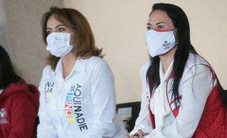 ALEJANDRA DEL MORAL Y ANA LILIA HERRERA SE PRONUNCIAN  POR UN CONGRESO QUE EQUILIBRE LOS PODERES