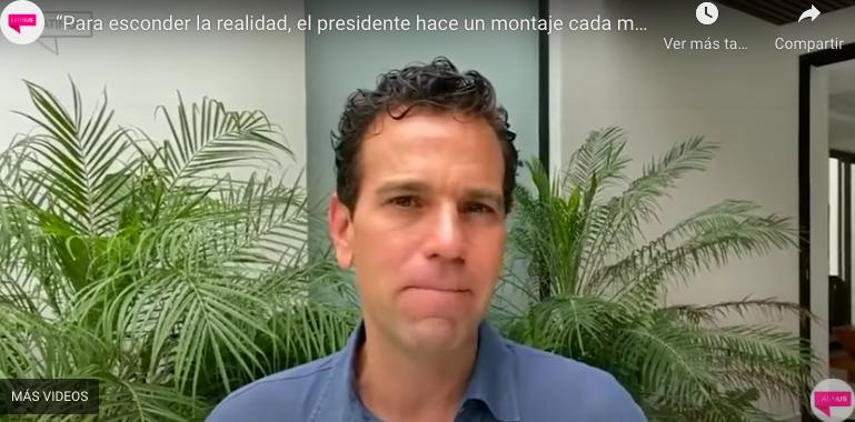 «PARA ESCONDER LA REALIDAD, EL PRESIDENTE HACE UN MONTAJE CADA MAÑANA»: LORET DE MOLA