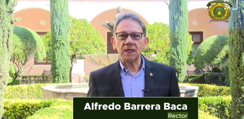 INAUGURA ALFREDO BARRERA «ABRIL, MES DE LA LECTURA» DE UAEM