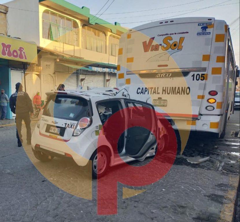 TRAS ACCIDENTE MUERE MUJER EN SAN MATEO ATENCO
