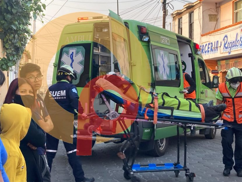 HOMBRE MALHERIDO ES ENCONTRADO EN CALLES DE METEPEC