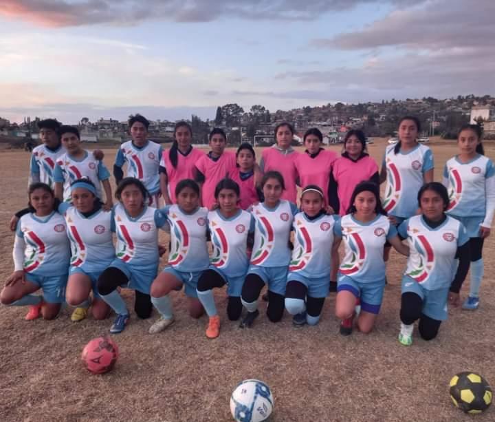 FORTALECEN EL FUTBOL FEMENIL DESDE TEMOAYA