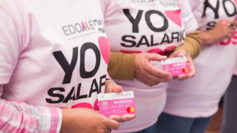 ORDENA EL INE RETIRAR PROPAGANDA DEL «SALARIO ROSA» EN EDOMEX