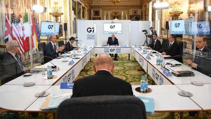 MINISTROS DE ASUNTOS EXTERIORES DEL G7 SE REÚNEN