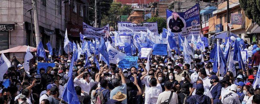 ESTE 6 DE JUNIO, EL ESTADO DE MÉXICO SE PINTARÁ DE AZUL: ENRIQUE VARGAS