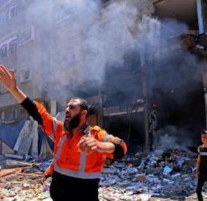 ATAQUE ISRAELÍ BOMBARDEA AGENCIA AMERICANA AP EN GAZA
