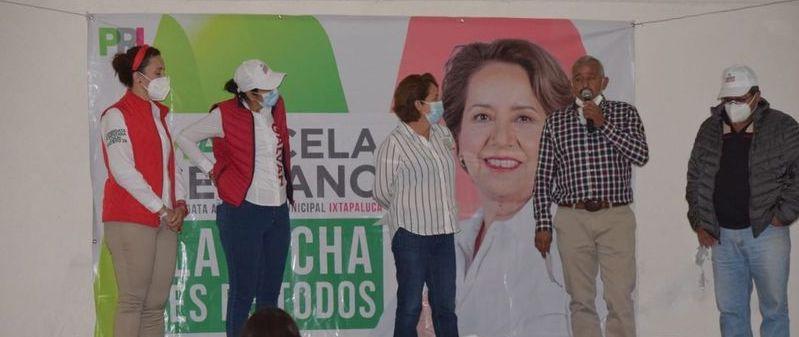 CONTINUIDAD A LA OBRA SOCIAL EN IXTAPALUCA, OFRECE MARICELA SERRANO