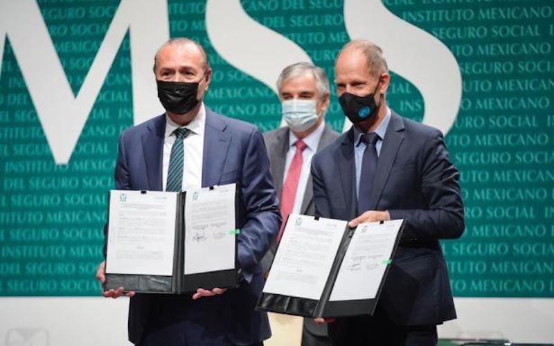 IMSS Y UNICEF FIRMAN COMPROMISO CONTRA OBESIDAD INFANTIL