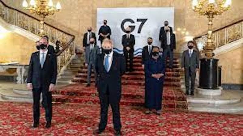 G7 SE COMPROMETE A EXPANDIR DISTRIBUCIÓN DE VACUNAS