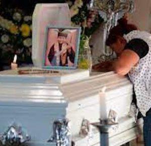 DAN ÚLTIMO ADIÓS A GIOVANNY, NIÑO QUE MURIÓ EN LA L-12