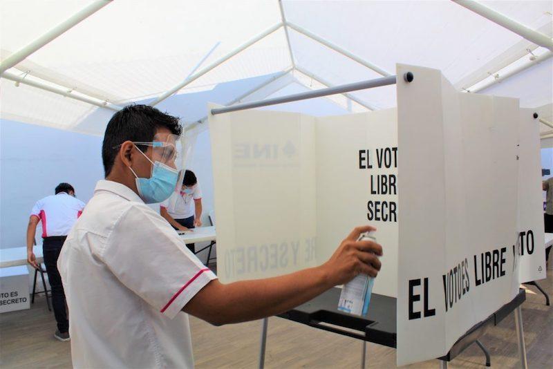 INE GUERRERO EXPLICA MEDIDAS SANITARIAS QUE SE TENDRÁN
