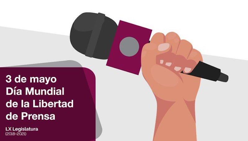 LEGISLATURA EDOMÉX DESTACA DÍA MUNDIAL DE LIBERTAD DE PRENSA