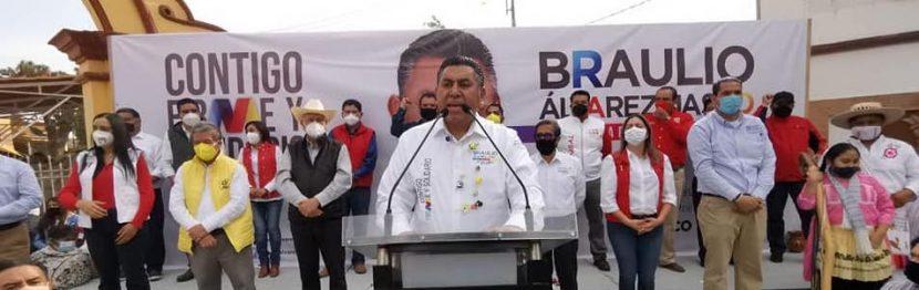 BRAULIO ALVAREZ JASSO SERÁ FIRME Y SOLIDARIO EN SU ACTUAR, ASEGURA