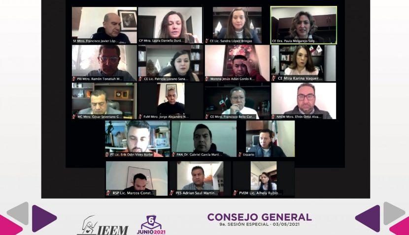 RESUELVE EL IEEM DIVERSAS SUSTITUCIONES DE CANDIDATURAS