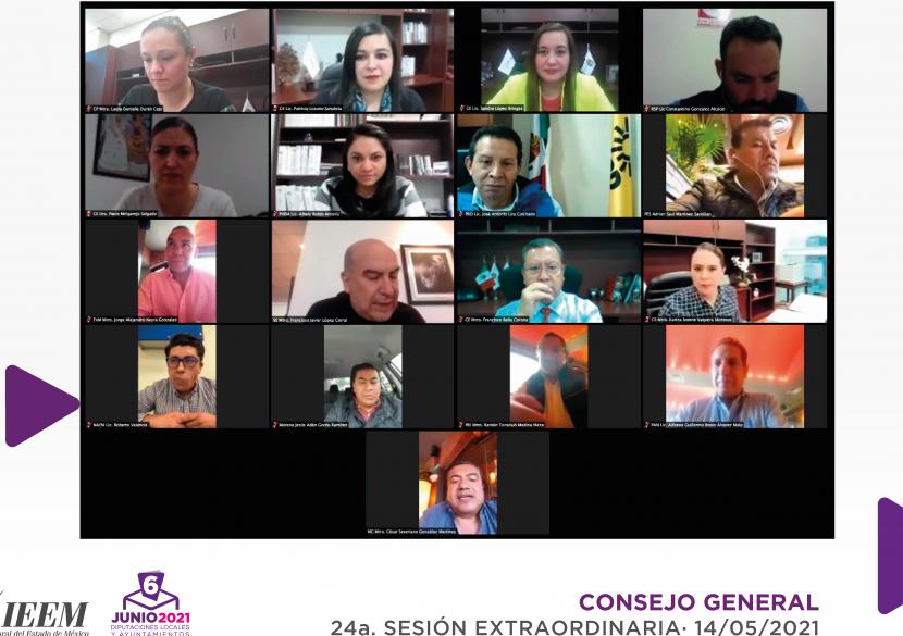 APRUEBA CONSEJO GENERAL DEL IEEM SUSTITUCIONES DE CANDIDATURAS