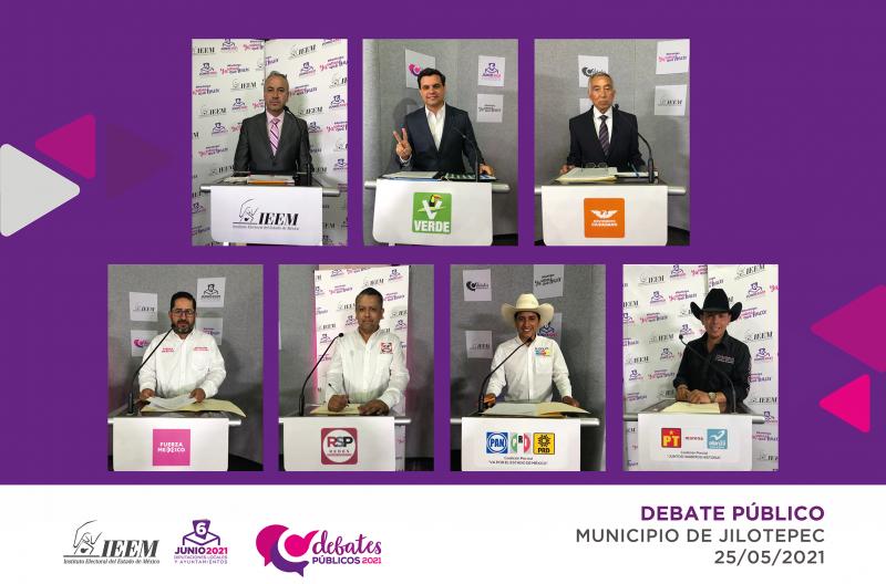 DEBATEN CANDIDATURAS POR LA PRESIDENCIA MUNICIPAL DE JILOTEPEC