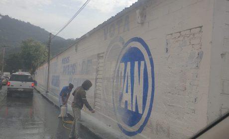 MORENA Y SU CANDIDATO ENRIQUE GARAY BORRAN BARDAS DE ACCIÓN NACIONAL