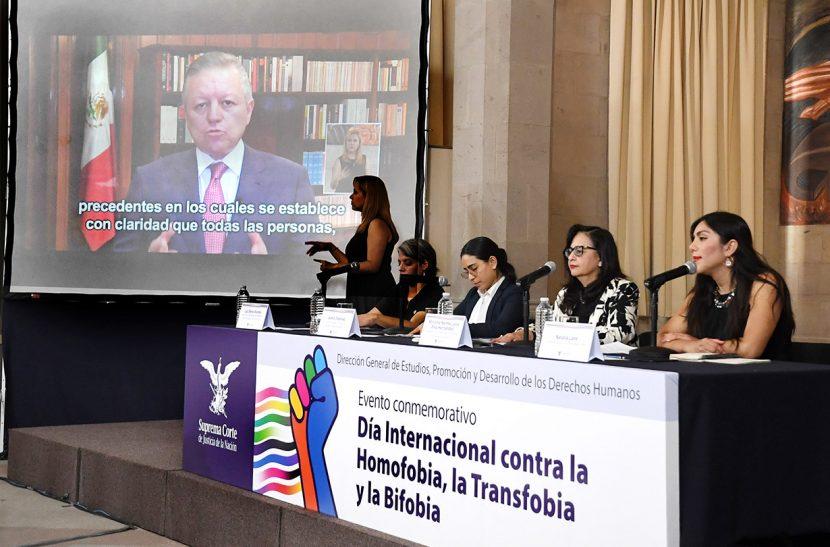 SCJN CONMEMORA EL DÍA INTERNACIONAL CONTRA LA HOMOFOBIA