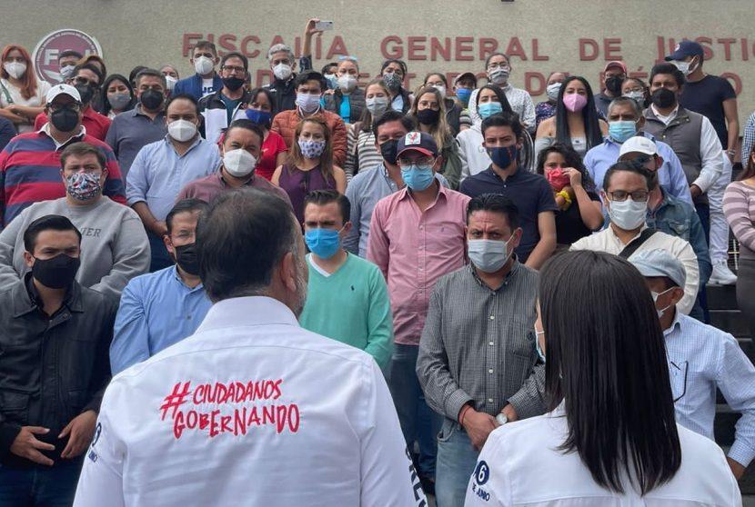 FERNANDO FLORES PRESENTA DENUNCIA DE AMENAZA DE GABRIELA GAMBOA CONTRA SU HIJA