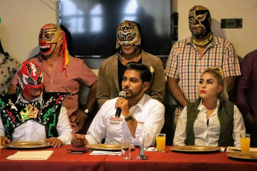 CANDIDATOS DE REDES SOCIALES PROGRESISTAS DE NEZA DECLINAN A FAVOR DE MORENISTA
