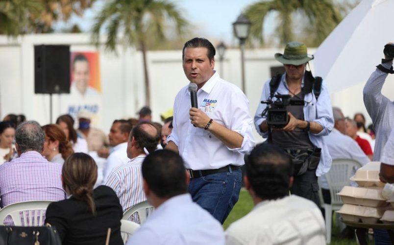 MARIO ZAMORA ASEGURA QUE SU CAMPAÑA NO SE HA UTILIZADO DINERO ILÍCITO