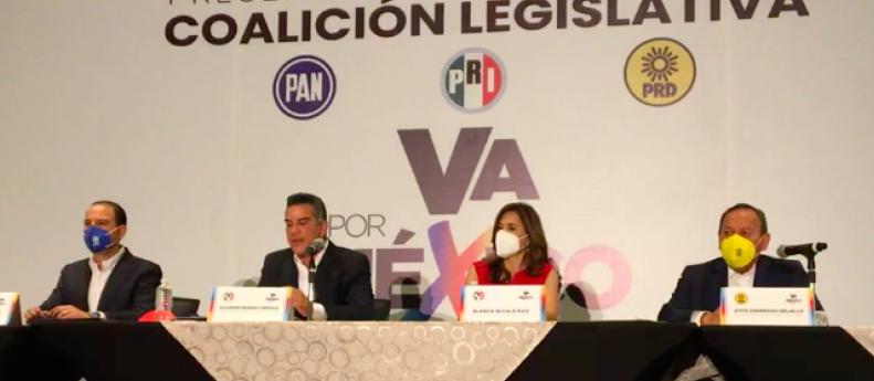 INTEGRAN BLOQUE DE CONTENCIÓN EN LA CÁMARA DE DIPUTADOS FEDERAL